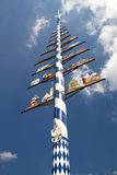 Bavarian Maypole Stock Images
