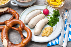 Bavarian meal Stock Image