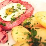 Bavarian meat loaf Stock Image