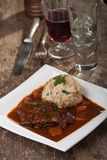 Bavarian meat stew Royalty Free Stock Photography