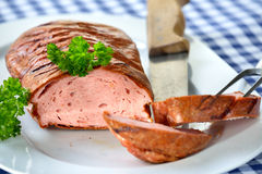 Bavarian meatloaf Royalty Free Stock Photography