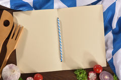 Bavarian menu Stock Photography