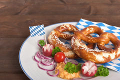 Bavarian menu Stock Images