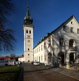 Bavarian Monastery Royalty Free Stock Photos