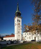Bavarian Monastery Stock Photography