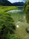 Bavarian Mountain Lake Royalty Free Stock Photos