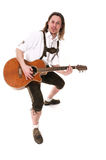 Bavarian Musician Royalty Free Stock Images