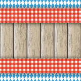 Bavarian National Colors Flyer Cloth Stock Image