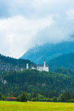Bavarian Neuschwanstein Castle view Stock Photography