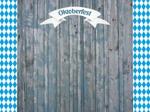 Bavarian october party background Royalty Free Stock Photography