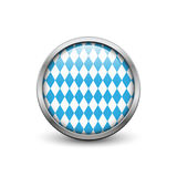 Bavarian Octoberfest flag Stock Image