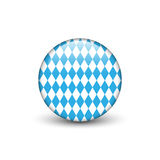 Bavarian Octoberfest flag Stock Photos