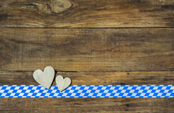 Bavarian or Oktoberfest Background Stock Images
