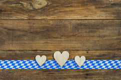 Bavarian or Oktoberfest Background Royalty Free Stock Images