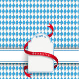 Bavarian Oktoberfest Flyer Banner Emblem Royalty Free Stock Photo