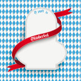 Bavarian Oktoberfest Flyer Emblem Royalty Free Stock Images
