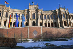 Bavarian Parliament in Munich Royalty Free Stock Photography