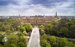 Bavarian Parliament in Munich Stock Images