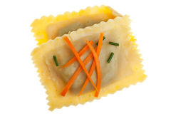 Bavarian pasta squares Stock Images