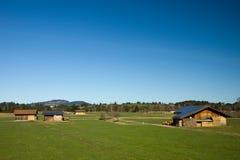 Bavarian photovoltaic Stock Photo