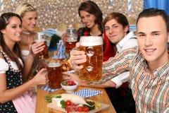 bavarian piwa grupa Zdjęcia Stock