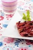 bavarian plum cake Royalty Free Stock Photo