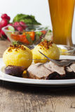 Bavarian pork meat Royalty Free Stock Image