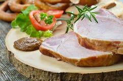 Bavarian pork spareribs Stock Photography