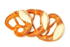 Bavarian pretzel Stock Photography