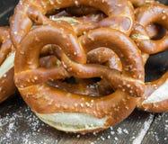 Bavarian pretzel Royalty Free Stock Photo