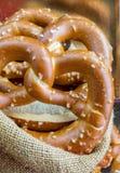 Bavarian pretzel Stock Images