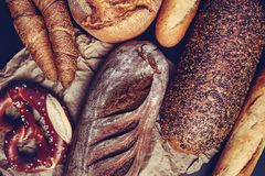 Free Bavarian Pretzel And Traditionally Made Baked Goods. - Image Royalty Free Stock Photo - 135205465
