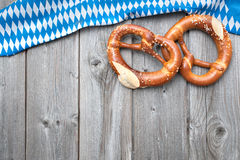 Bavarian pretzels Stock Photography