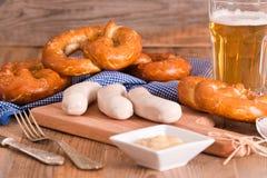 Bavarian pretzels. Royalty Free Stock Photos