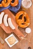 Bavarian pretzels. Stock Photography