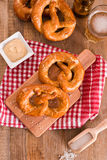 Bavarian pretzels. Stock Images