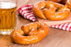 Bavarian pretzels. Royalty Free Stock Photo