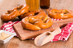 Bavarian pretzels. Royalty Free Stock Image