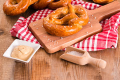Bavarian pretzels. Royalty Free Stock Photography