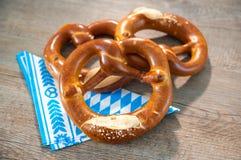 Bavarian Pretzels Stock Image