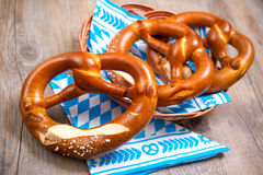 Bavarian Pretzels Stock Photos