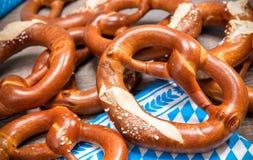 Bavarian Pretzels Royalty Free Stock Photos