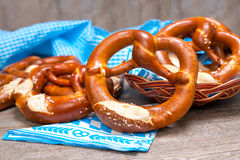 Bavarian Pretzels Stock Images