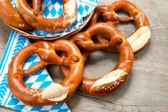Bavarian Pretzels Royalty Free Stock Photo