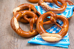 Bavarian Pretzels Royalty Free Stock Image