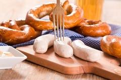 Bavarian pretzels. Royalty Free Stock Photo