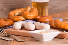 Bavarian pretzels. Stock Images