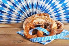 Bavarian pretzels Stock Images