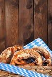 Bavarian pretzels Stock Photography