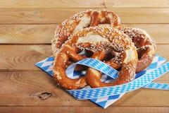 Bavarian pretzels Stock Photos